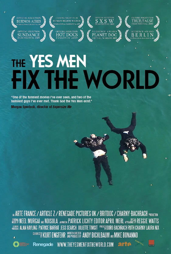 The Yes Men Fix the World Poster #3