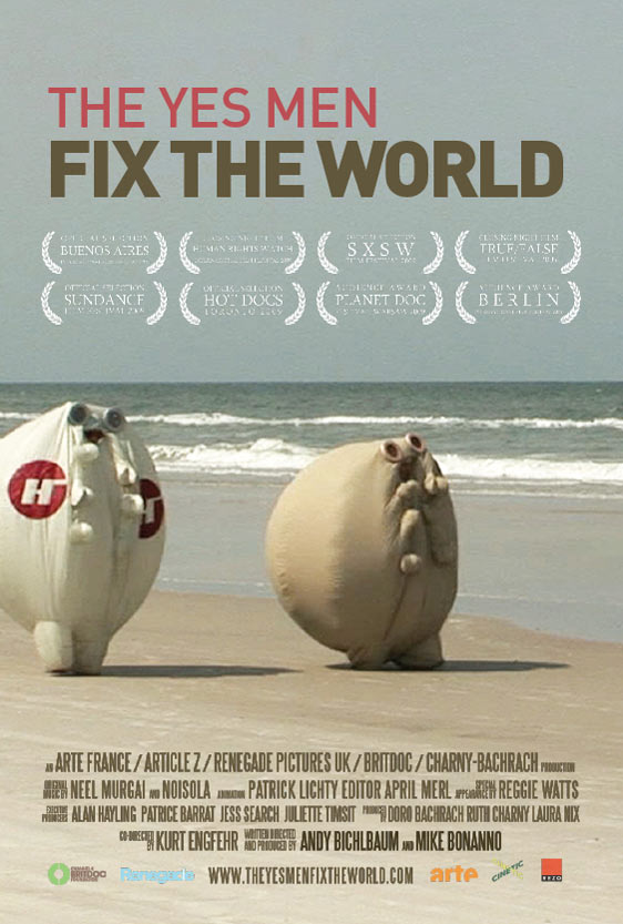 The Yes Men Fix the World Poster #4