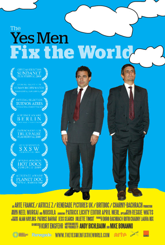The Yes Men Fix the World Poster #5