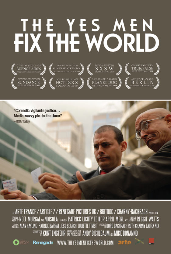 The Yes Men Fix the World Poster #6