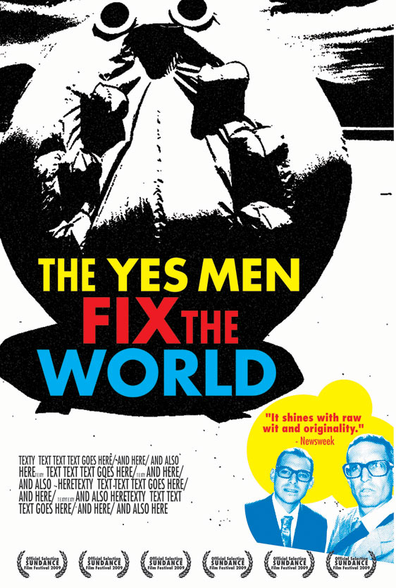 The Yes Men Fix the World Poster #7