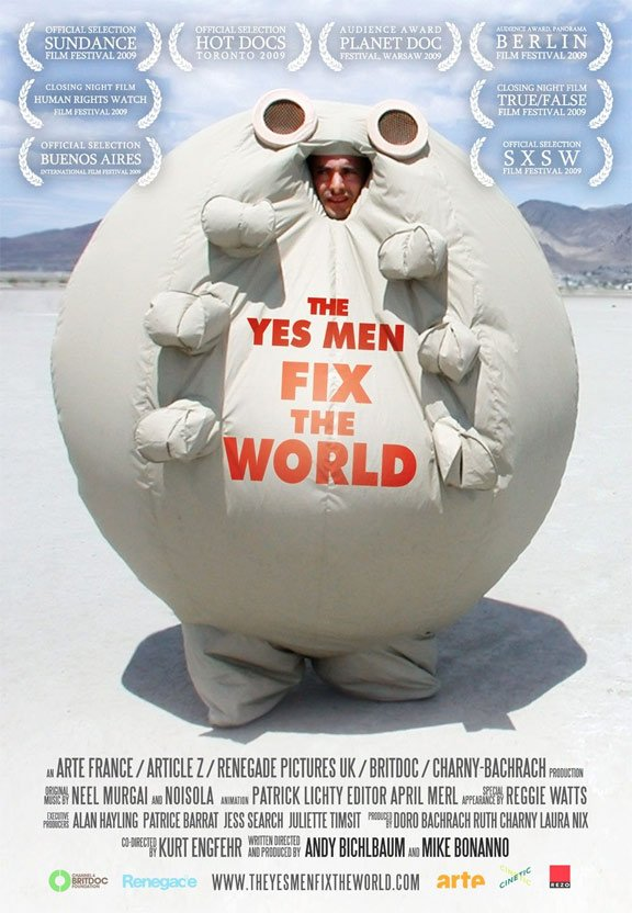 The Yes Men Fix the World Poster #8