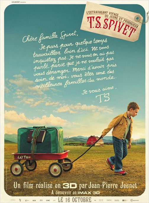 The Young and Prodigious Spivet Poster #1