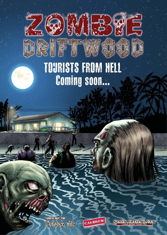 Zombie Driftwood Poster #1