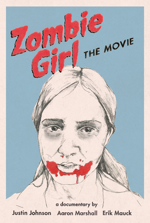 Zombie Girl: The Movie Poster #1