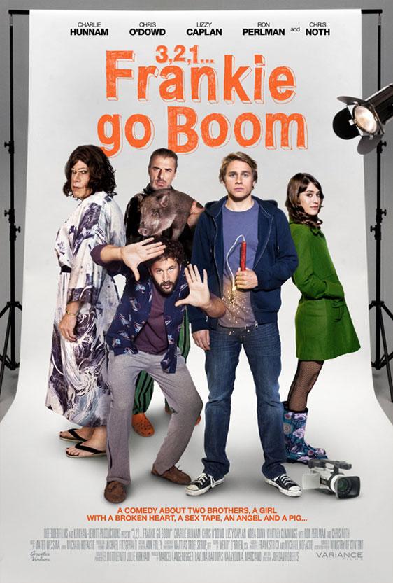 3, 2, 1... Frankie Go Boom Poster #1