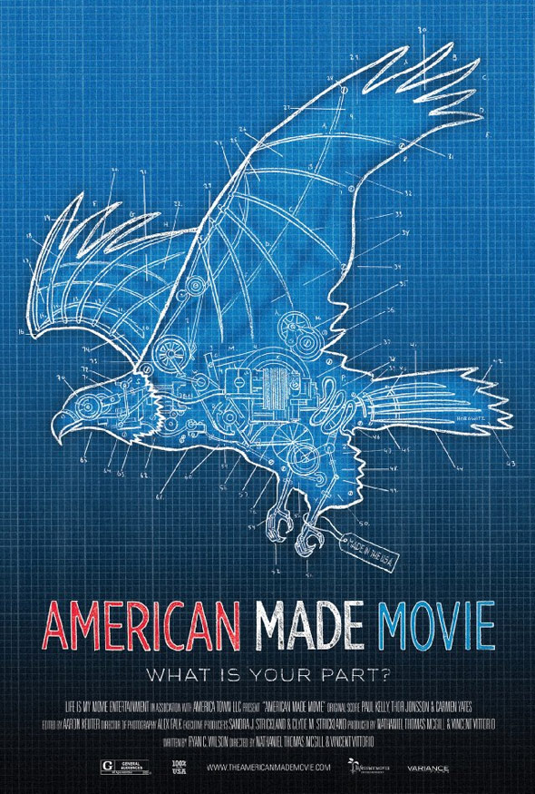 American Made Movie Poster #1