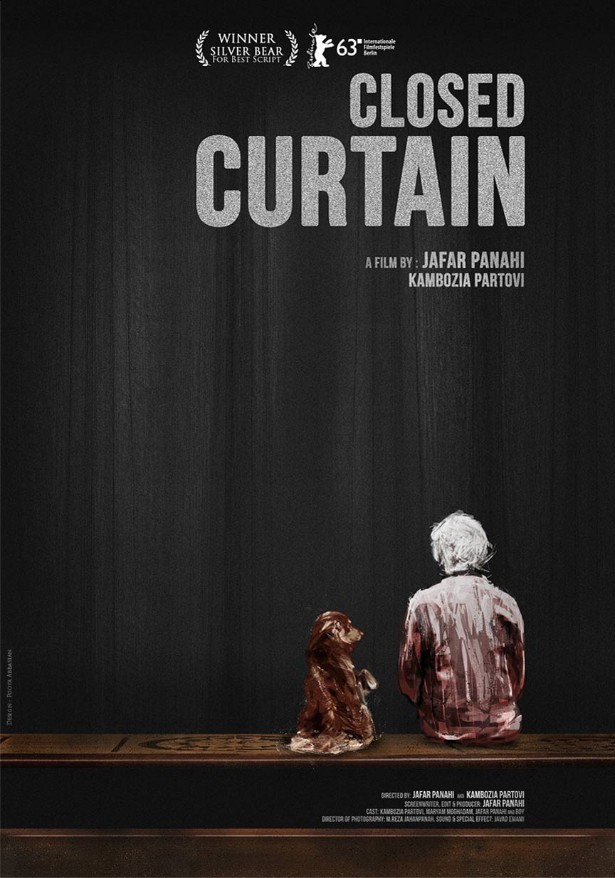 Closed Curtain Poster #1
