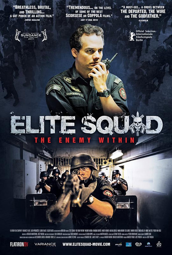 Elite Squad 2: The Enemy Within Poster #1