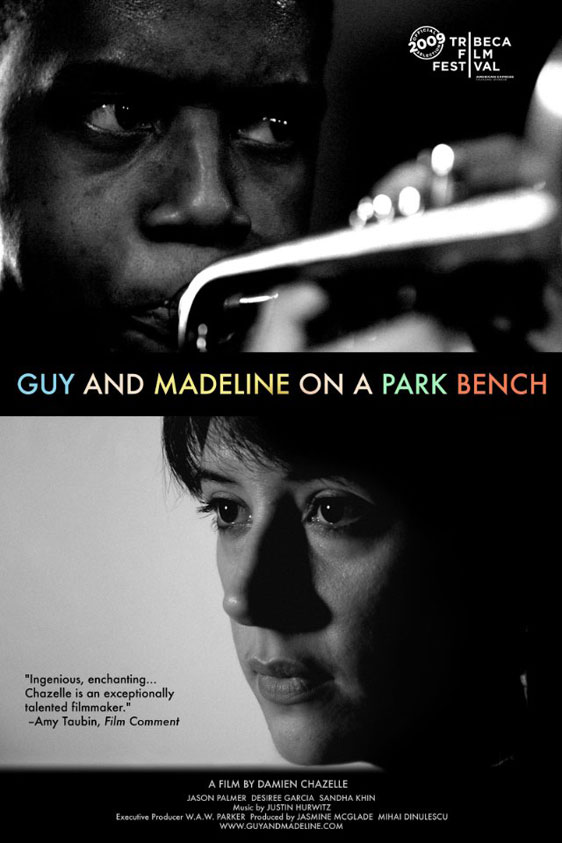 Guy and Madeline on a Park Bench Poster #2