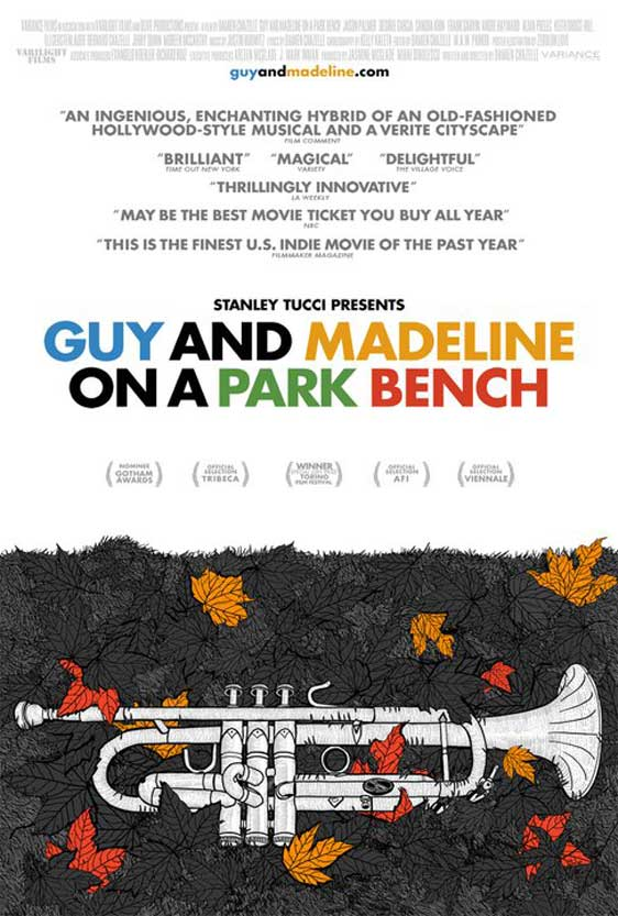 Guy and Madeline on a Park Bench Poster #1