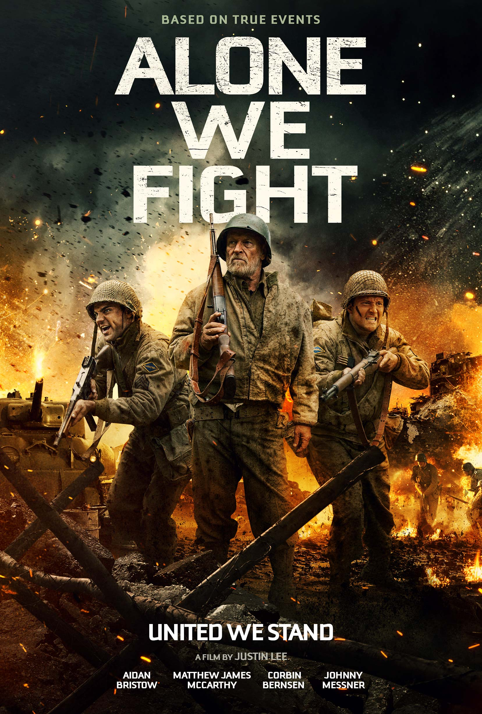 Alone We Fight Poster #1