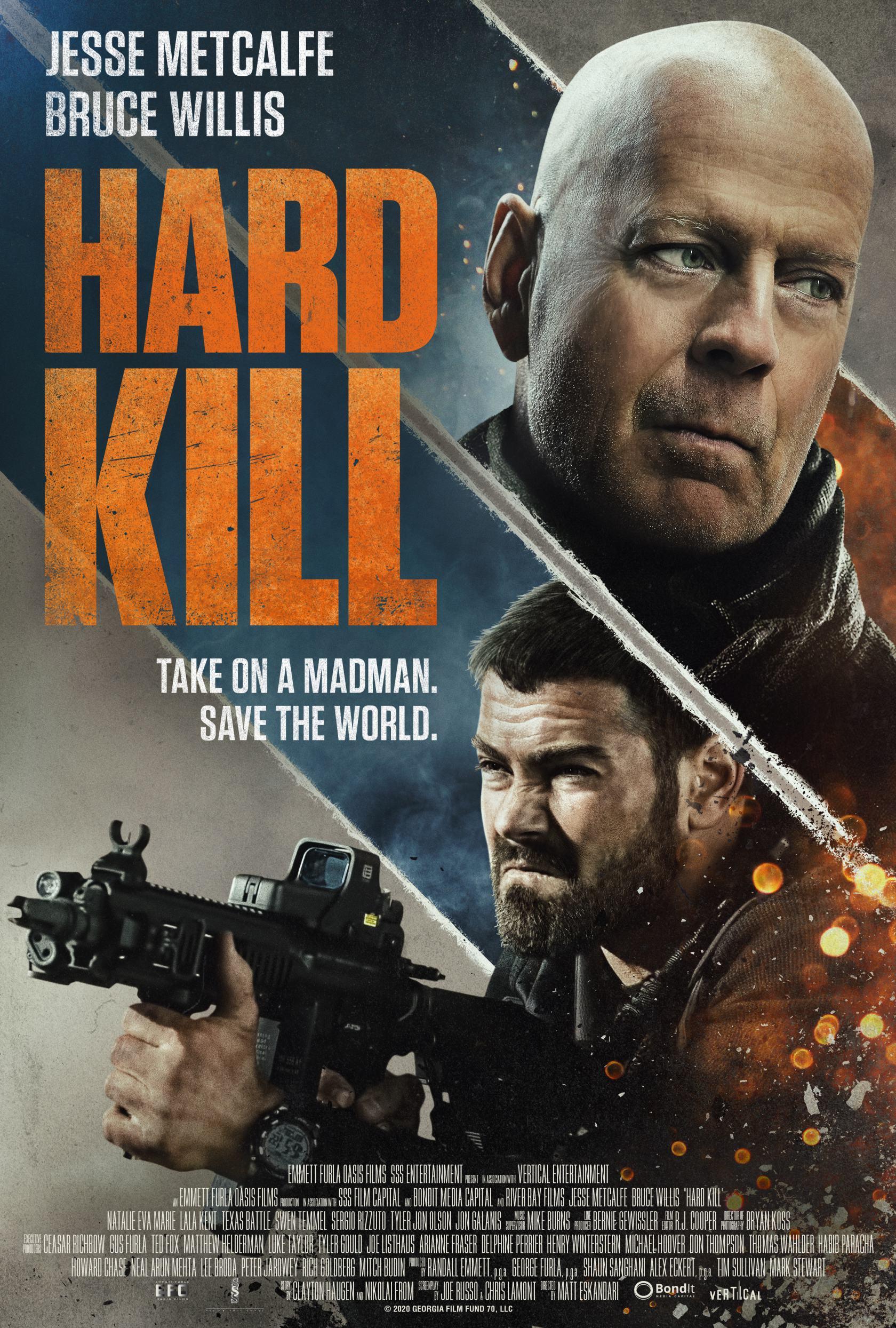 Hard Kill Poster #1