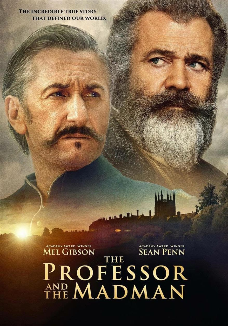 The Professor and the Madman Poster #1