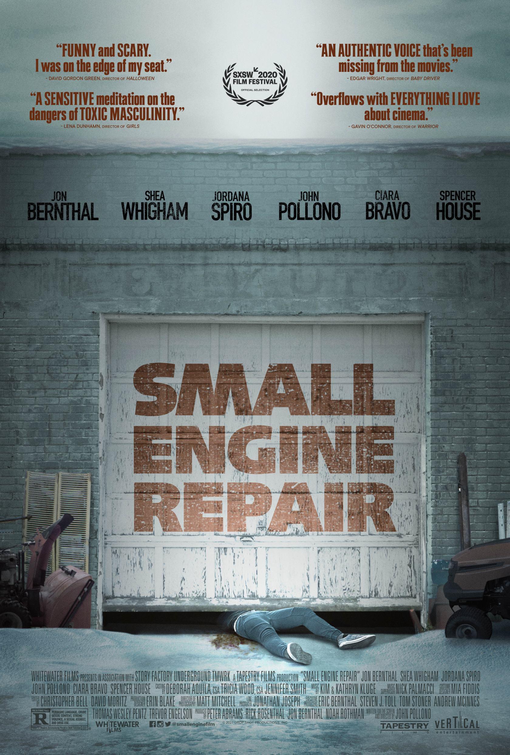 Small Engine Repair Poster #1