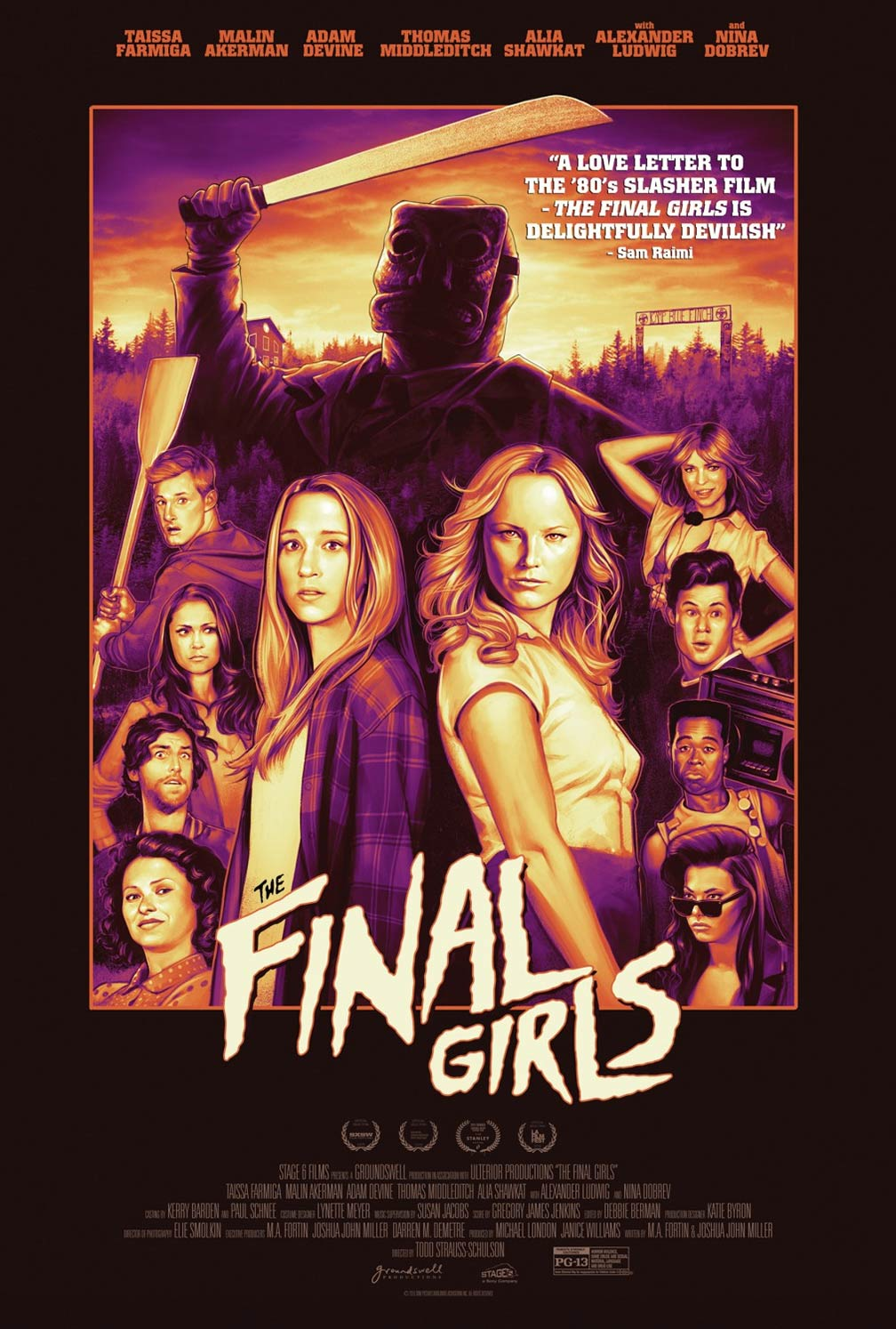 The Final Girls Poster #1