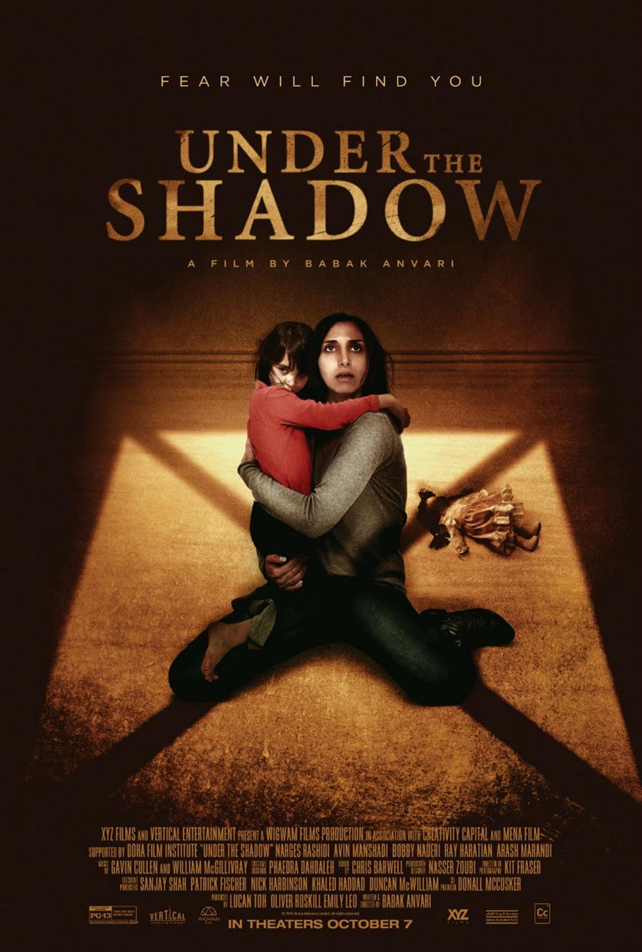Under the Shadow Poster #2