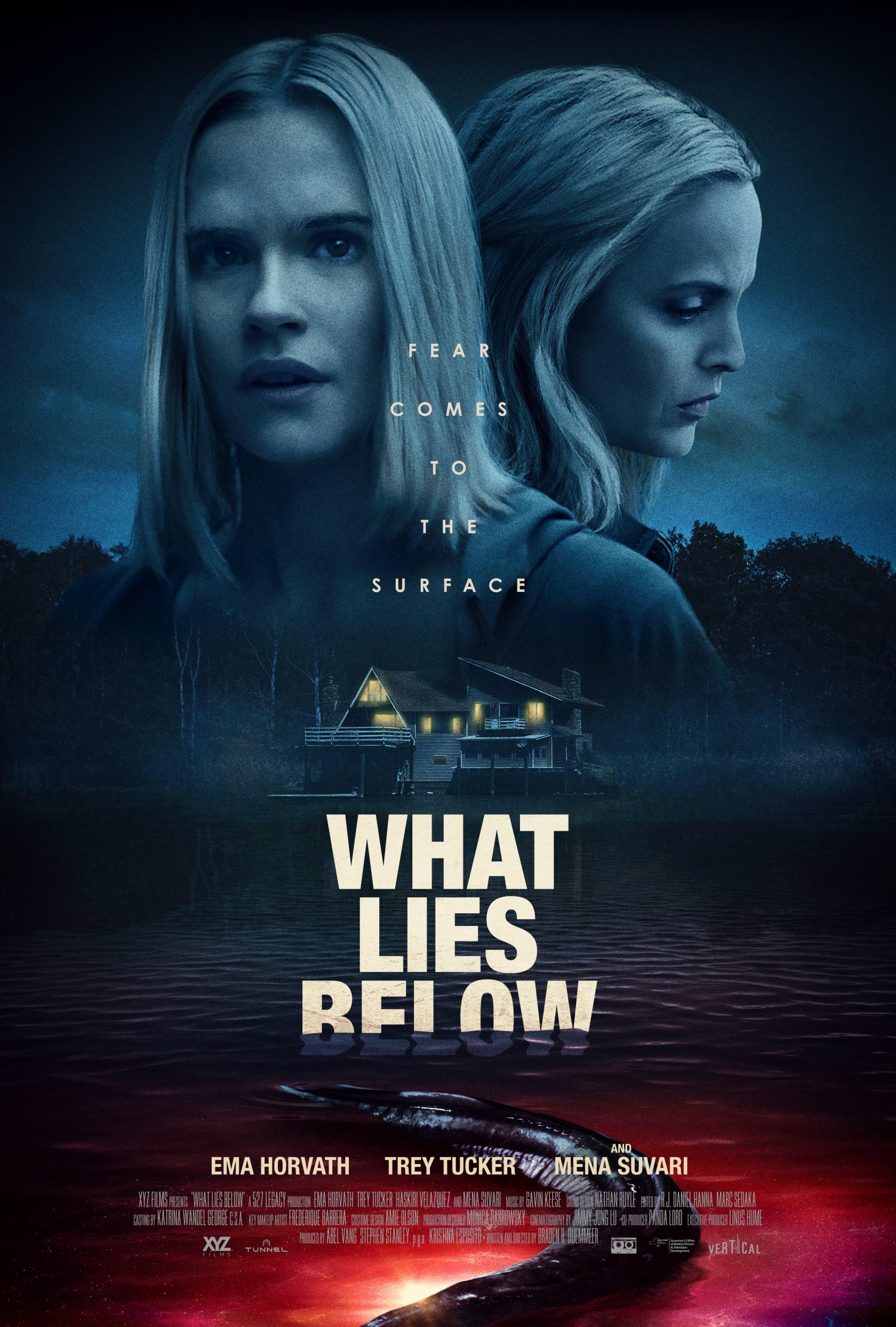 What Lies Below Poster #1
