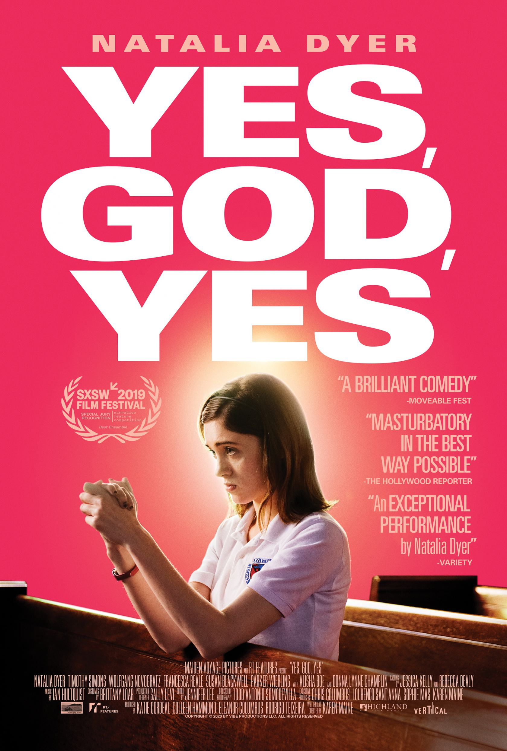 Yes, God, Yes Poster #1