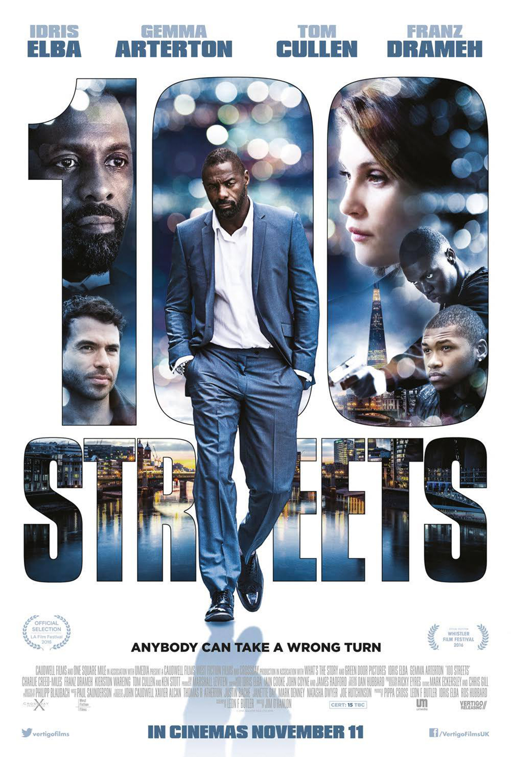 100 Streets Poster #1