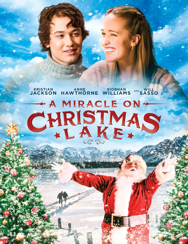 A Miracle on Christmas Lake Poster #1
