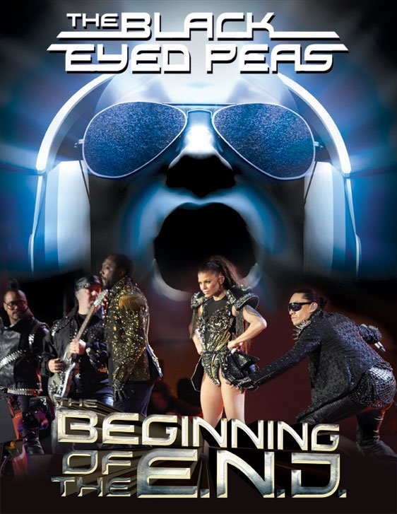 Black Eyed Peas - The Beginning of the End Poster #1