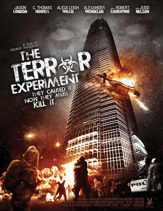 The Terror Experiment Poster #1