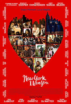 New York, I Love You Poster #2
