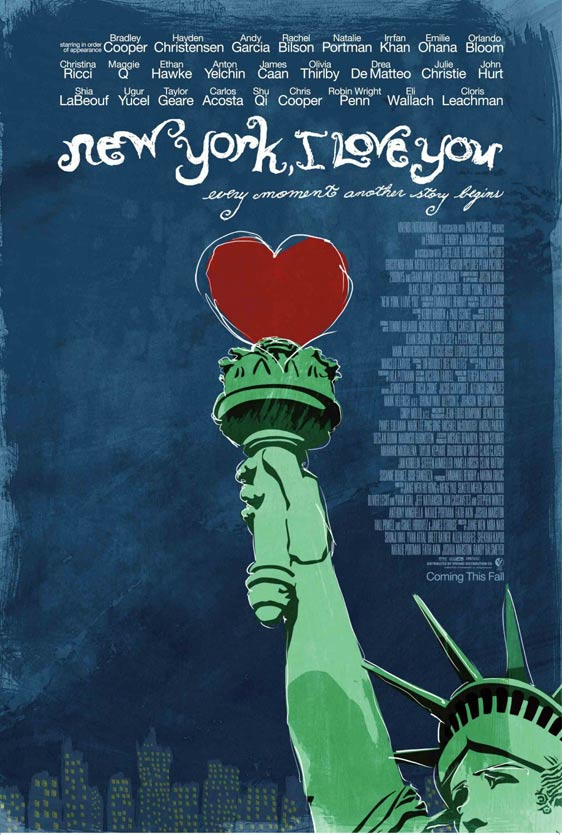 New York, I Love You Poster #1