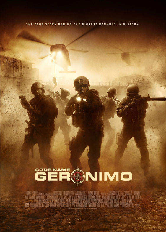 Code Name: Geronimo Poster #1