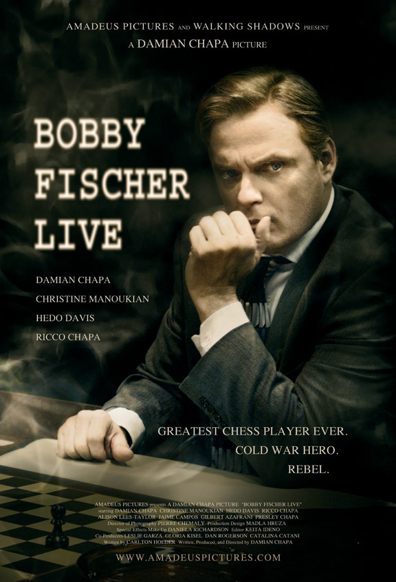 Bobby Fischer Live Poster #1