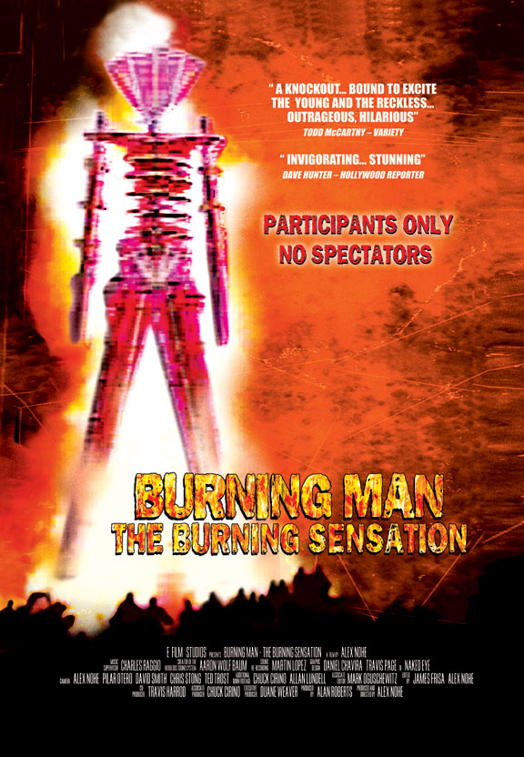 Burning Man: The Burning Sensation Poster #1