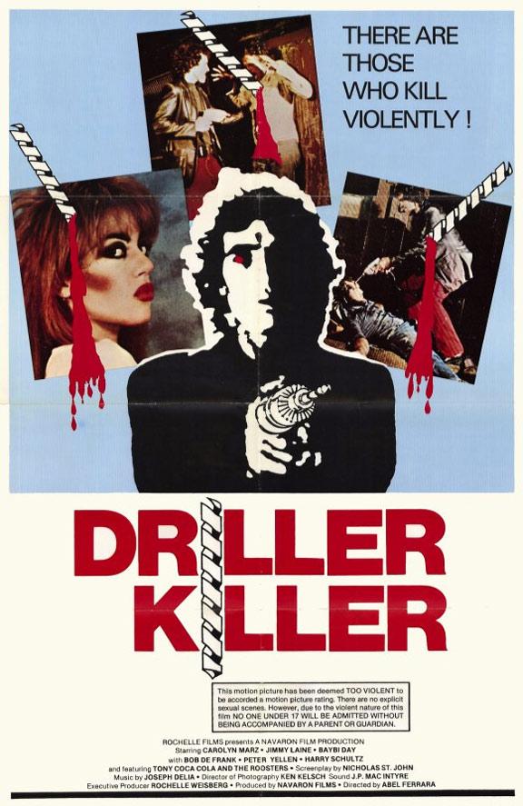 Driller Killer Poster #1