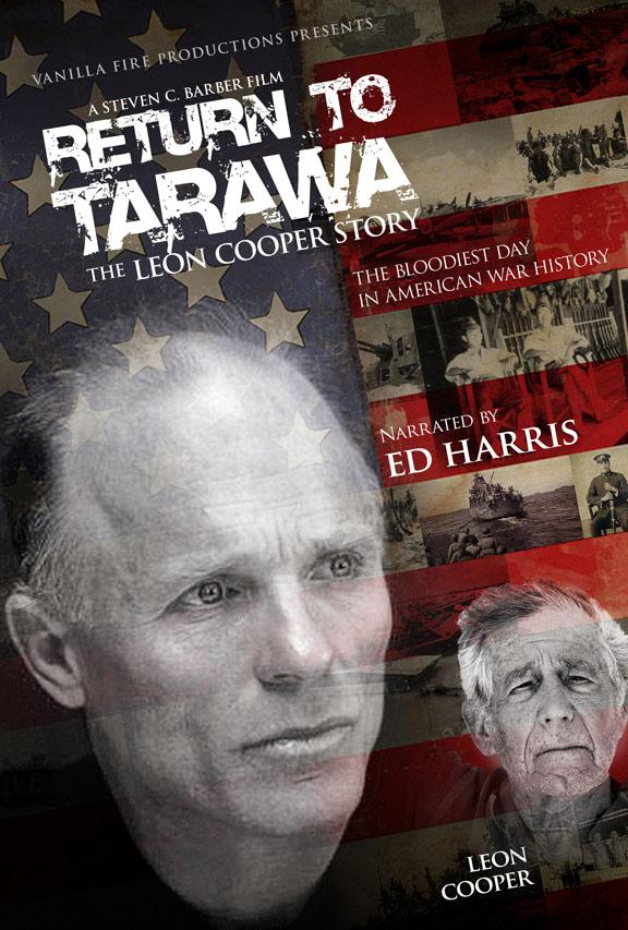 Return to Tarawa: The Leon Cooper Story Poster #1