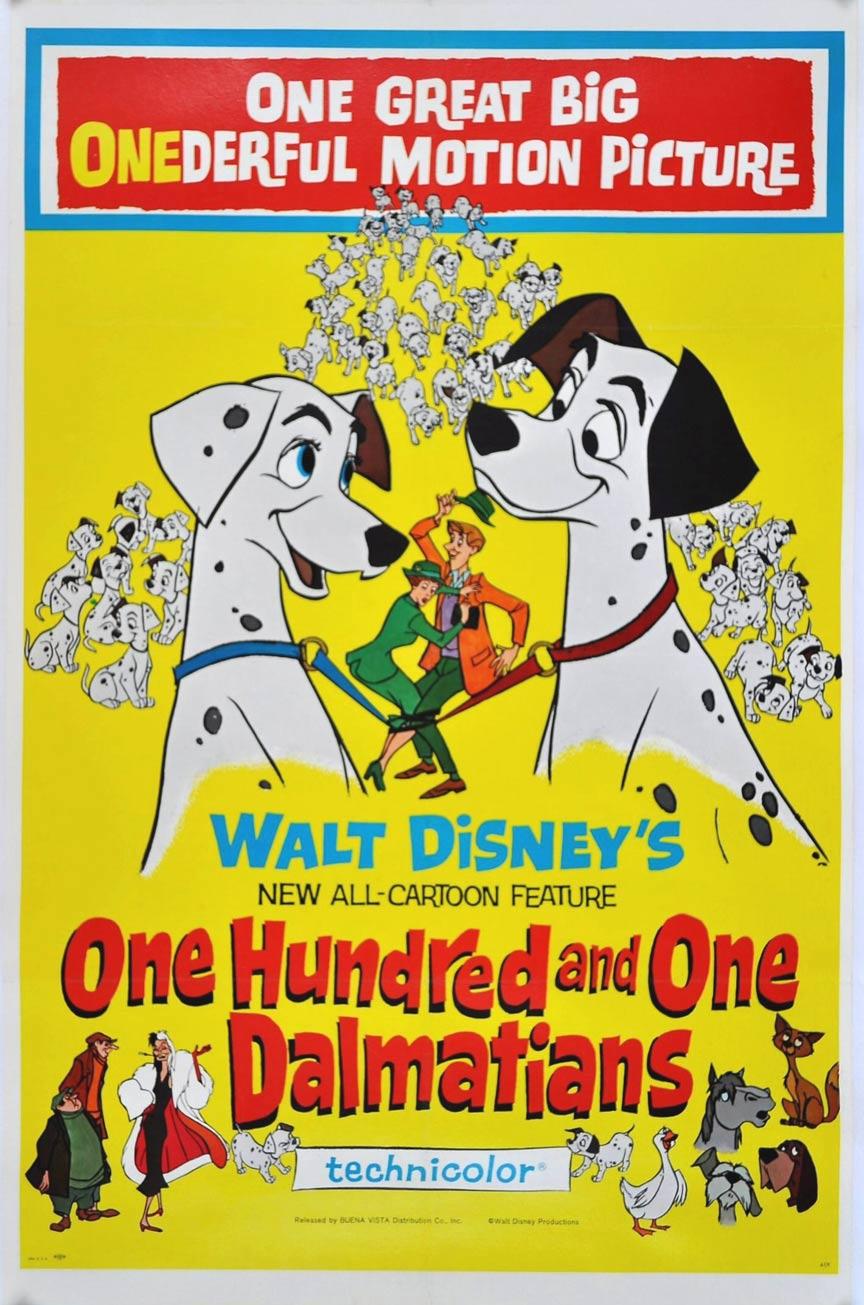 101 Dalmatians Poster #1