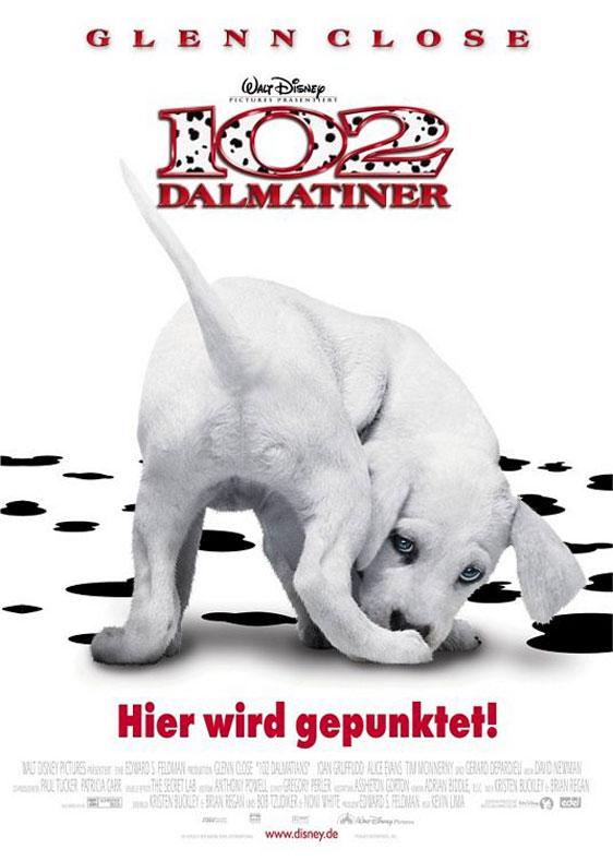 102 Dalmatians Poster #2