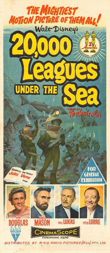 20,000 Leagues Under the Sea Poster #3