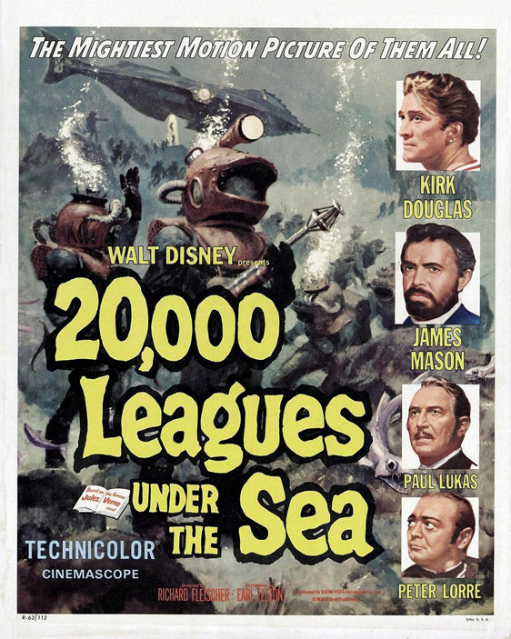 20,000 Leagues Under the Sea Poster #1