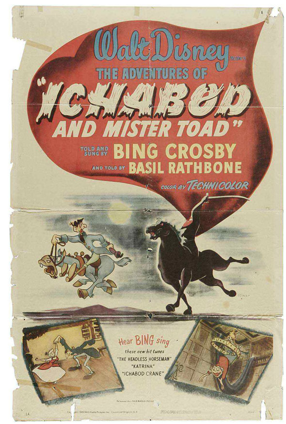 The Adventures of Ichabod and Mr. Toad Poster #1
