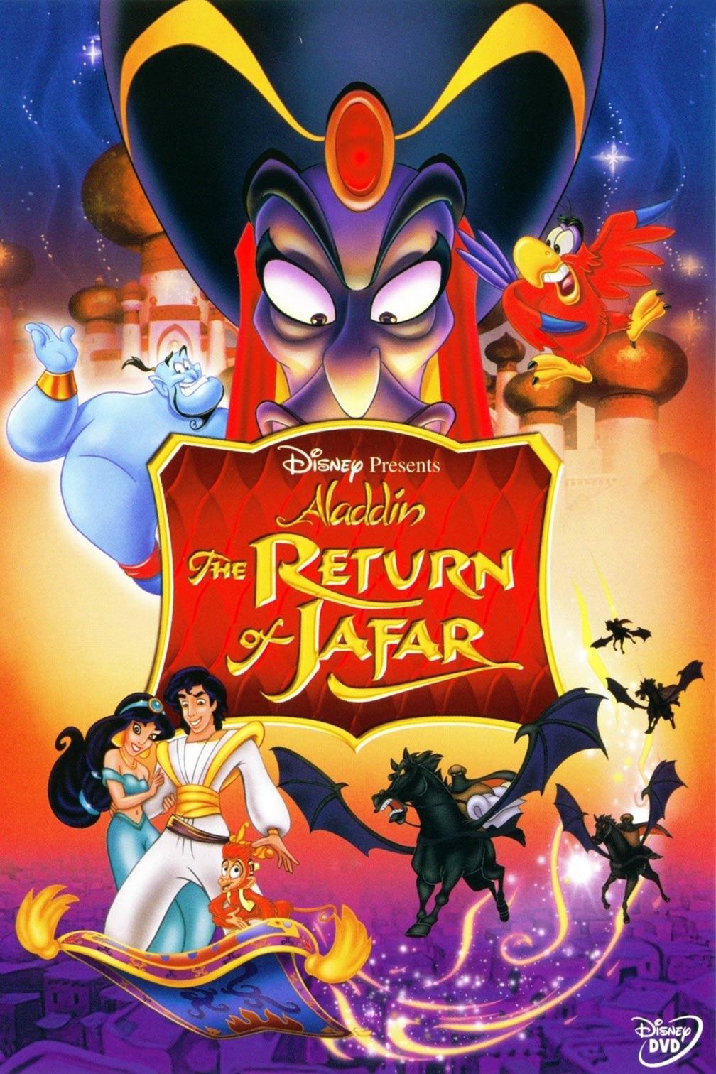 Aladdin 2: The Return of Jafar Poster #1