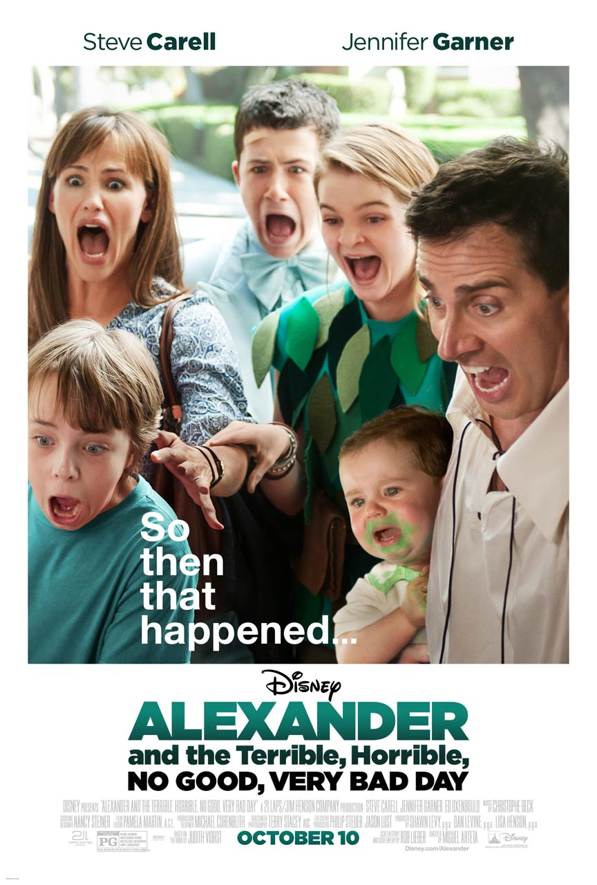 Alexander and the Terrible, Horrible, No Good, Very Bad Day Poster #1