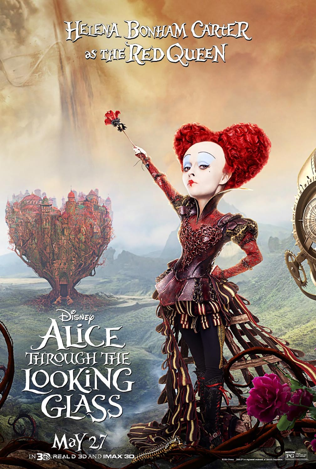 Alice Through the Looking Glass Poster #10