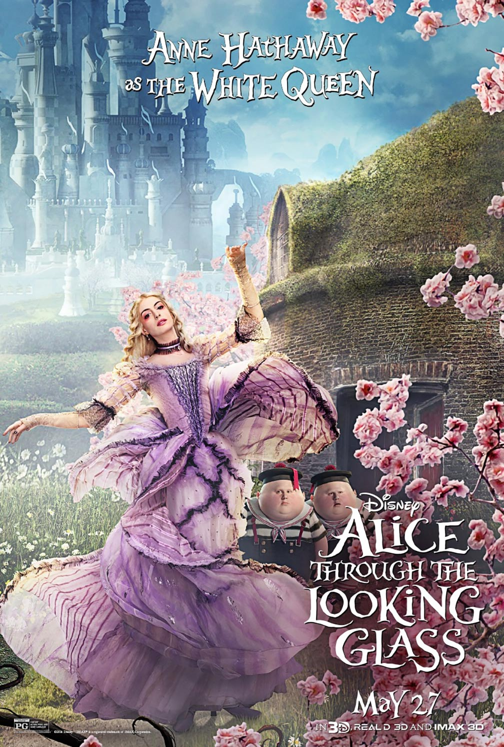 Alice Through the Looking Glass Poster #12