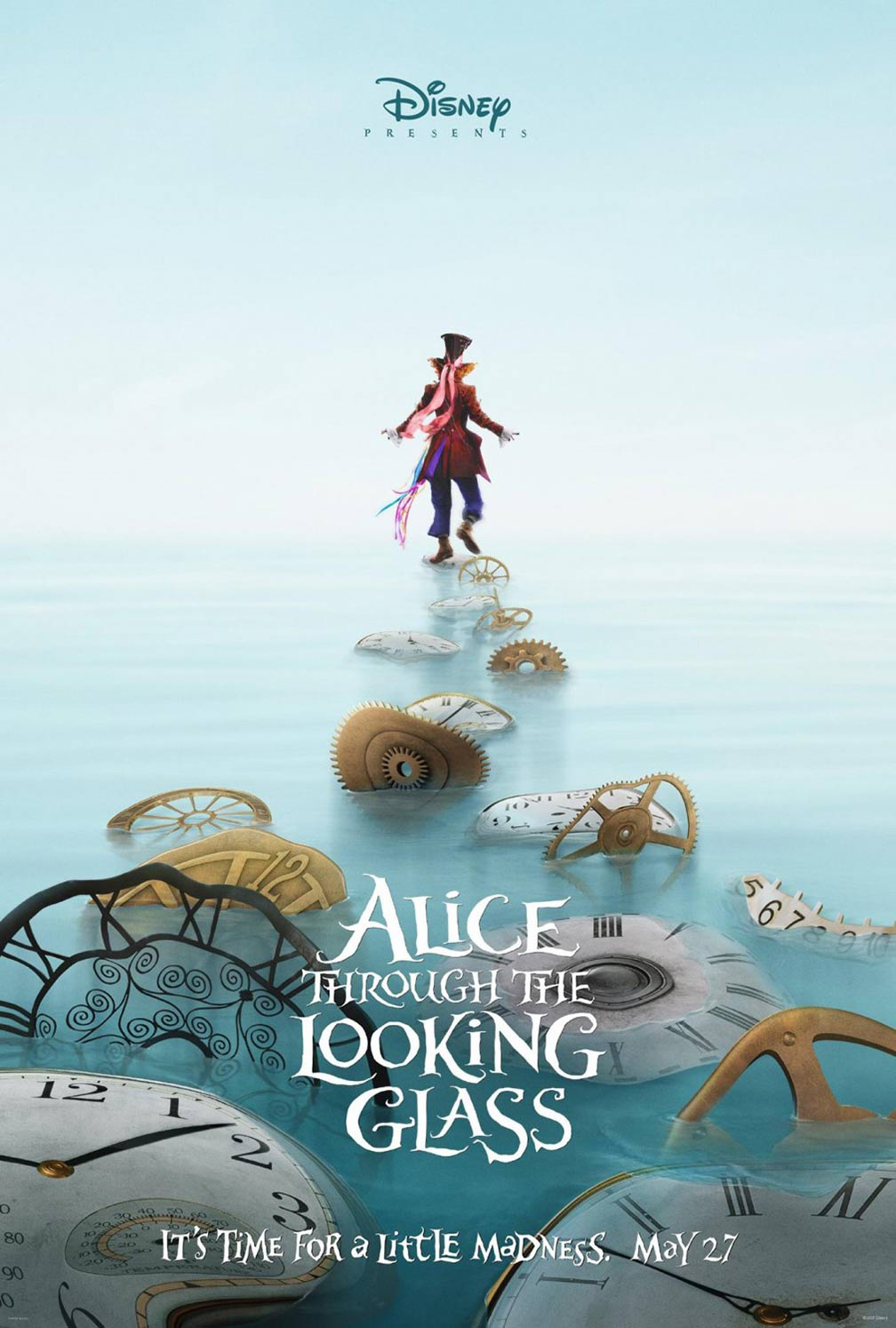 Alice Through the Looking Glass Poster #2