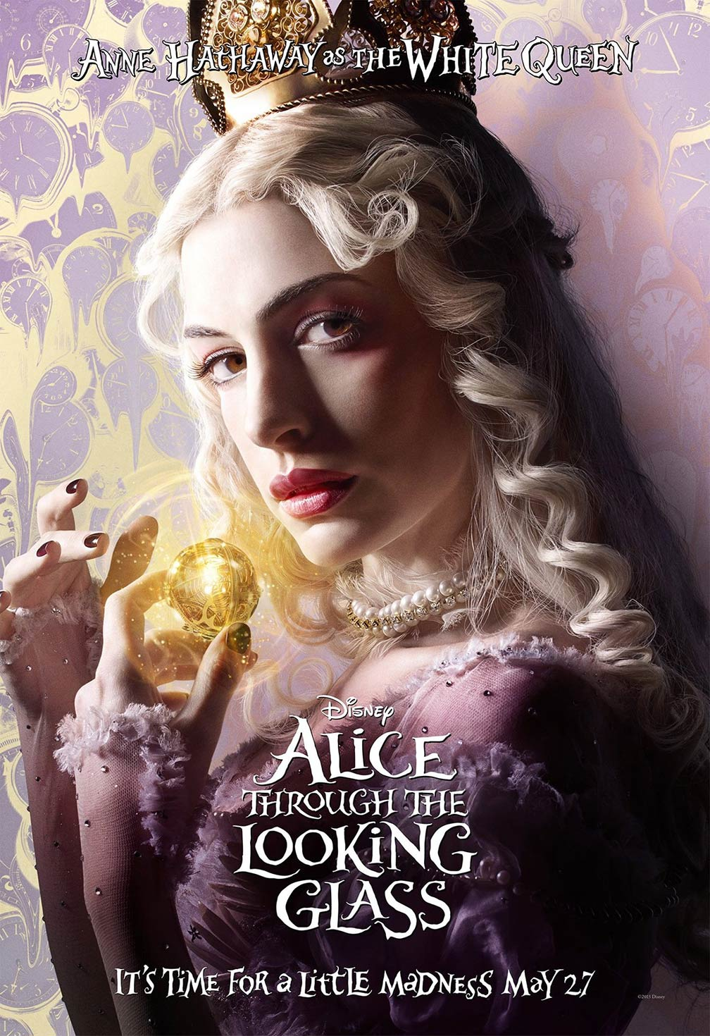 Alice Through the Looking Glass Poster #3