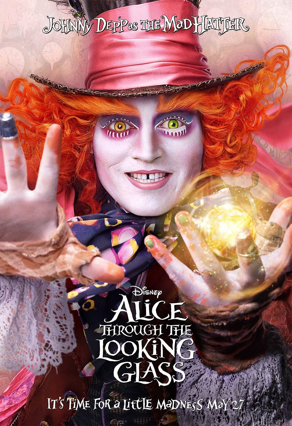 Alice Through the Looking Glass Poster #4