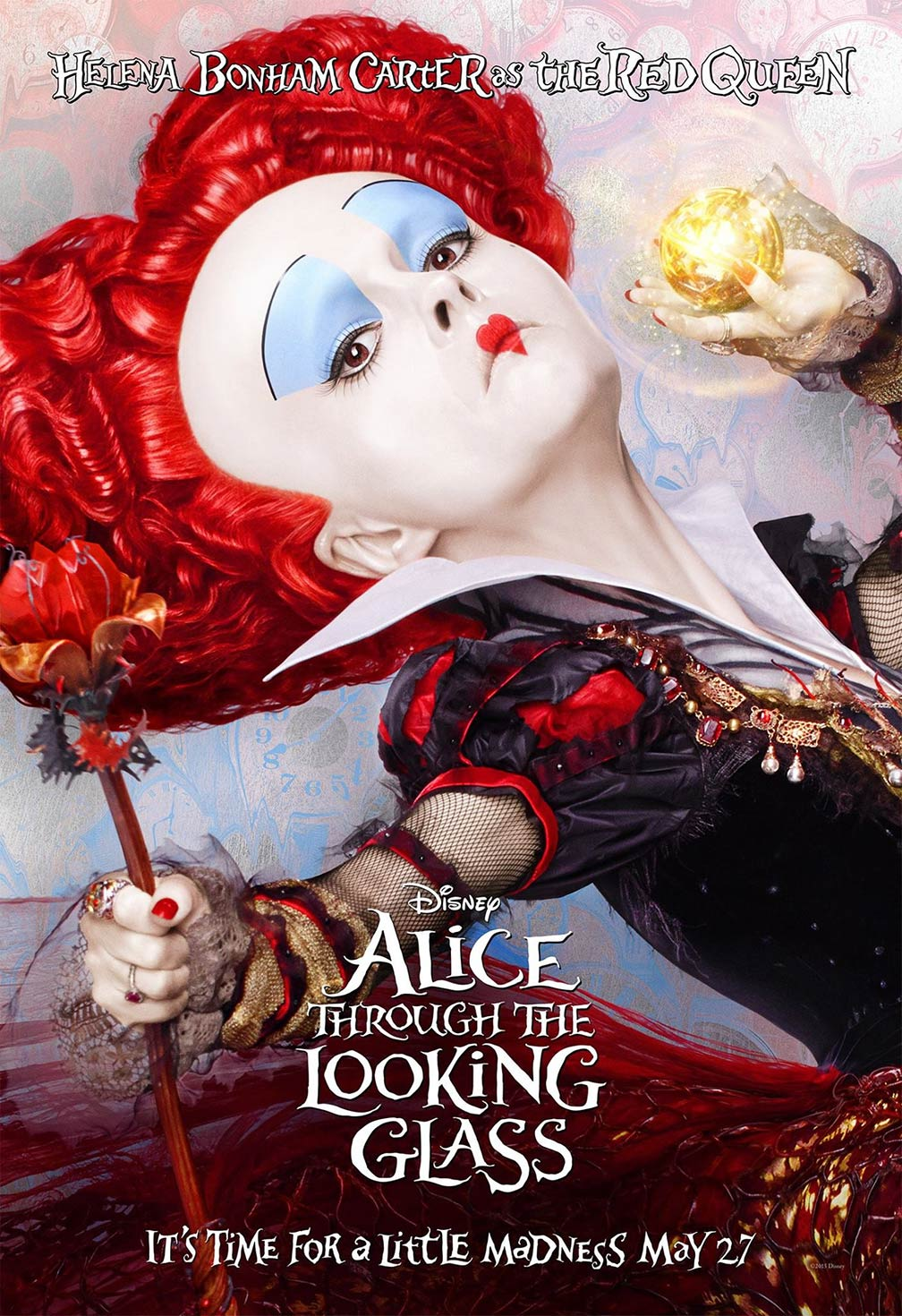 Alice Through the Looking Glass Poster #5