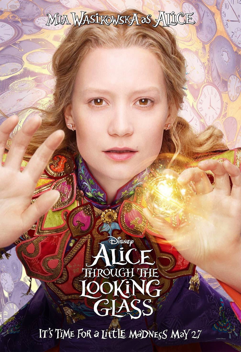 Alice Through the Looking Glass Poster #6