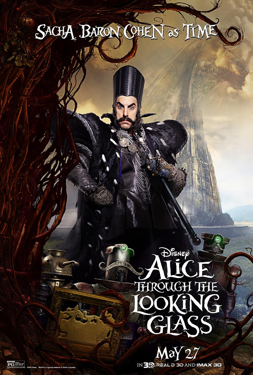 Alice Through the Looking Glass Poster #8