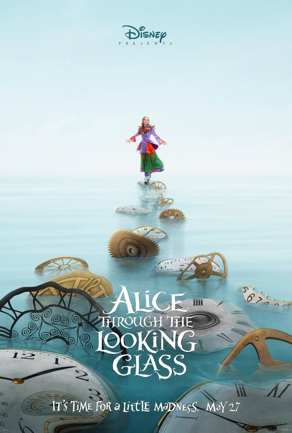 Alice Through the Looking Glass Poster #1